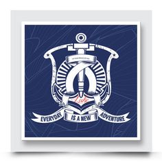 Anchor Wall Art, Nautical Artwork, Create Your Own Story, Contemporary Art Prints, Baby Boy Rooms, New Adventures, Box Frames, Playroom, Your Design