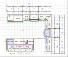 Hi All, I Got My Revised Kitchen Layout  Below Is The Link To My