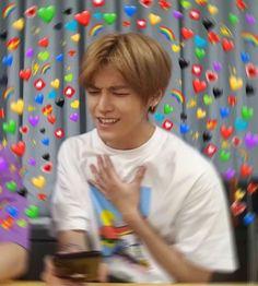 New memes heart kpop nct Ideas Funny Kpop Memes, Memes Br, New Memes, Love Memes, Nct Taeyong, Meme Faces, Funny Faces, K Pop, Nct 127