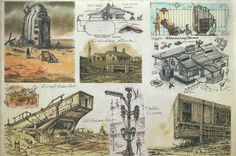 Fallout 3 concept art: The World