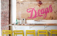 Dough – a funky pizzeria in Perth's Northbridge nightlife strip of William Street.