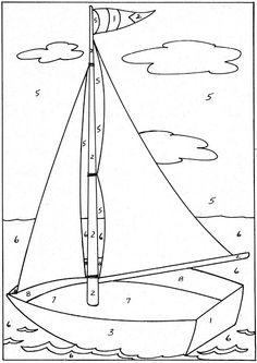 Sailboat. X