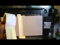► Duct Tape Binding Tutorial - YouTube. Watch the tutorial several times before attempting this. She makes several mistakes in the beginning that can be confusing. She also uses her cutting machine to keep the pages spaced. Not all have this machine. ღ