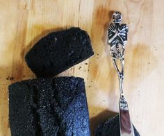 This bread is just like my soul, dark and dense. It's fairly easy to whip up and the dark color makes it a show stopper. The inky black color comes from the addition of bamboo charcoal powder, an easy to obtain item available both online and in certain health food stores and Asian markets. Unlike the saltier alternative squid ink, the charcoal powder brings a deep black color to the dough without changing the taste of the final product.