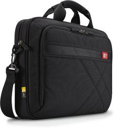 14e8c8cab3b1 Case Logic DLC-115 15.6-Inch Laptop and Tablet Briefcase (Black) Laptop