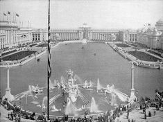 1893 Columbian Exposition: genesis of the City Beautiful Movement
