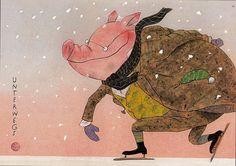 Ice pig. Wolf Erlbruch