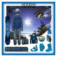 """TRAVEL IN STYLE, HOLIDAY EDITION:  SNOWBOARD VACATION"" by misshollowpointslug ❤ liked on Polyvore featuring DC Shoes, Arc'teryx, Burton, NIKE, ThirtyTwo, Moncler, Trilogy, 686, NIKITA and Odin"