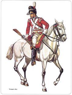 soldatini uniformi e storia militare scots grey 1807
