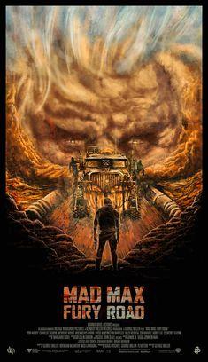 Песок, шипы, рев моторов: Постеры к фильму «Безумный Макс: Дорога ярости» — Meduza