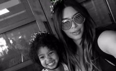Kim Kardashian Shares Cute Videos of North and Kanye at Rob's Birthday Party | E! Online