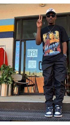 Street Style Outfits Men, Black Men Street Fashion, Mode Outfits, Street Wear For Men, Black Men Summer Fashion, Men Street Styles, Hip Hop Outfits, Dope Outfits For Guys, Stylish Mens Outfits