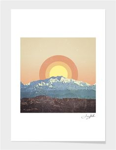 "Curioos.com | ""Mt"" by Tony Kuchar Limited Edition - Gallery Quality Art Print from 19€ ($25)"