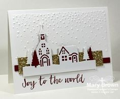 And it is getting closer and closer…Christmas that is! This week for the Create with Connie and Mary Thursday Challenge we have a really cool sketch inspiration for you! I wasn't reall…