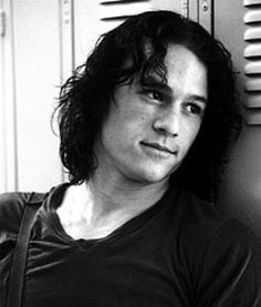 Heath Ledger...I know I've already pinned his picture several times, I just love him so much.