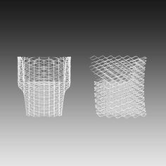 3D printed Diamond chair by Nendo