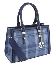 3c2e3bc20d9d Loving this Blue Miley Plaid Satchel on #zulily! #zulilyfinds Cowgirl Chic,  Purse