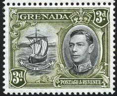 King George VI Grenada 1937