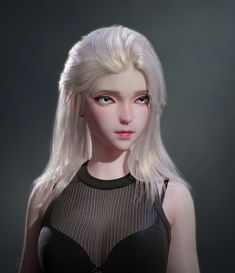 ArtStation - female, Se young Lee