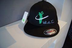 White Tee - FlexFit - Golf Hat #WhiteTeeGolfTM #GolfCap