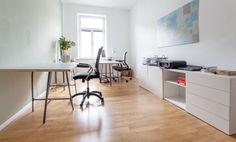Arbeitsplätze in Münchner Bürogemeinschaft inkl. Coachingraum #Büro, #Bürogemeinschaft, #Office, #Coworking, #München, #Munich