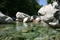 Piscines naturelles en Haute Corse