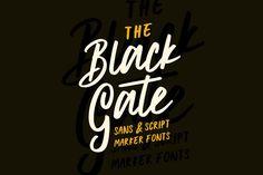 Black Gate - Sans Serif - 1