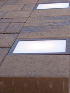 Are these winter ice proof? The Nox Lighting Cored LED Paver Light is designed to be recessed into pavers, stone, decks or any other outdoor surface. Diy Deck, Diy Patio, Backyard Patio, Paver Walkway, Driveway Landscaping, Walkways, Paver Sand, Paver Edging, Paver Stones