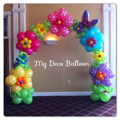 Balloon Decoration, My Deco Balloon Flowers and Spring Balloon Decorations Kids Birthday Themes, Birthday Balloons, Birthday Party Decorations, Birthday Parties, Balloon Centerpieces, Balloon Decorations, Balloon Ideas, Balloon Designs, Balloon Flowers