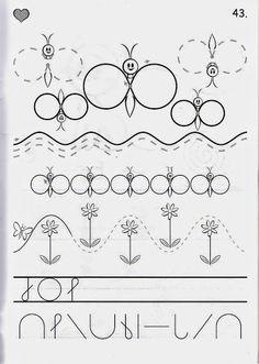 Íráselemek gyakorlása - boros.patricia - Picasa Webalbumok Tracing Worksheets, Preschool Worksheets, School Daze, Pre School, Kids Study, Pre Writing, Bugs And Insects, Early Learning, Fine Motor Skills