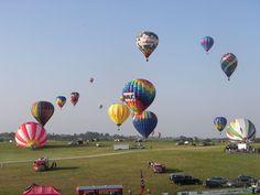 National Balloon Classic, Indianola IA USA