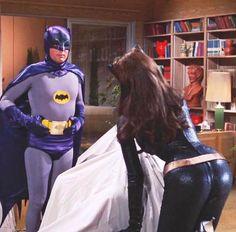 Batman Show, Batman Tv Series, Batman 1966, Batman Comics, Batgirl, Catwoman, Adam West Batman, Erin Moriarty, Julie Newmar