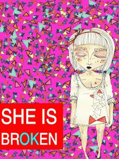 she is brOKen She Is Broken, Portfolio Images, Anime, Art, Art Background, Kunst, Cartoon Movies, Anime Music, Performing Arts