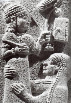 Hittite, tombstone, Maraş, Louvre Museum,Paris (Kurt Bittel) (Erdinç Bakla archive)