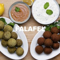 healthy snacks - Tasty Here's how to make Classic homemade Falafel AND Veggie Recipes, Indian Food Recipes, Vegetarian Recipes, Cooking Recipes, Healthy Recipes, Diet Recipes, Yogurt Recipes, Diet Meals, Easy Recipes