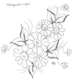 Margarida Azul | Artesanato na Rede