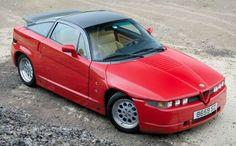 10 autos feos.  Alfa Romeo SZ/RZ  1989-1994