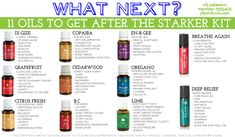 """What do I get after my Premium Starter Kit from Young Living? This is a great list of """"what next"""" oils. Follow The Toiling Owl on Pinterest to have access to over 50 essential oil boards. You can simply go to my page and easily find the essential oil board and pins you're looking for. And be on the lookout for deals and FREEBIES exclusive to my Pinterest page!! #EssentialOils #ImAHoot"""