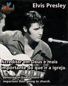 Os Inofensivos: Frase de Elvis Presley.