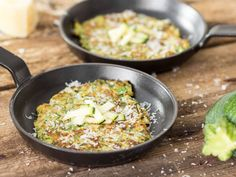So knusprig wie Fritters! Low-Carb-Pancakes mit Zucchini