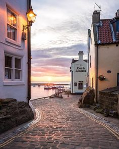 Staithes, Yorkshire, UK.