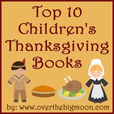 Top 10 Children's Thanksgiving Books List!