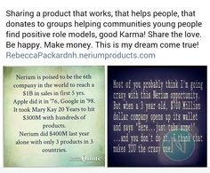 RebeccaPackardnh.neriumproducts.com