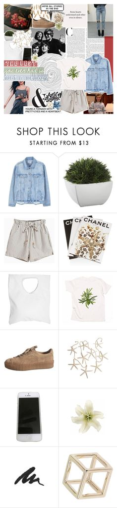 """remember when the boys were all electric?"" by same-sunset ❤ liked on Polyvore featuring GET LOST, MANGO, Crate and Barrel, Assouline Publishing, Jennifer Haley, Apple, Clips, Urban Decay, Topshop and nicolewantstoseethis"