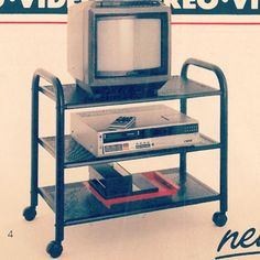 "Who didn't have one of these? Ours had an Atari and 12"" TV"
