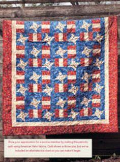 Patterns - Stars N' Stripes Digital Quilt Pattern