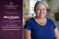 BERKSHIRE HATHAWAY HOMESERVICES FLORIDA NETWORK REALTY WELCOMES MARY SINGLEY