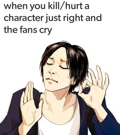 When you kill an SNK character just right and the fans cry, Hajime Isayama meme