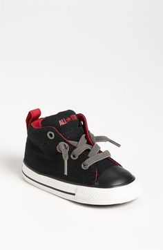 Converse Chuck Taylor® Street Mid Cab Sneaker (Walker & Toddler) | Nordstrom I can't with these!