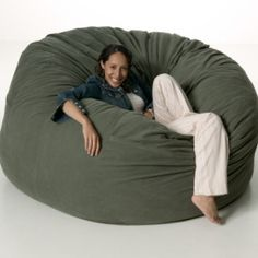 Rest easy or just laze around in a lazy bean bag chair. Find out more about bean bag chair patterns, in this post. Make A Bean Bag Chair, How To Make A Bean Bag, Baby Bean Bag Chair, Bean Bag Bed, Diy Bean Bag, Bean Bag Sewing Pattern, Bean Bag Patterns, Puff Gigante, Chaise Diy